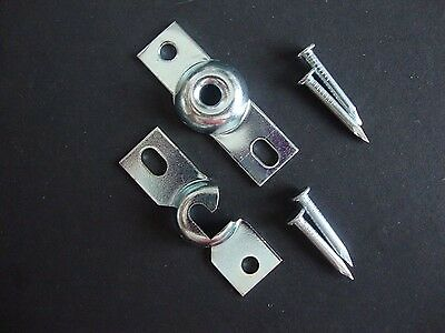 Inside Mount Shade Brackets for Spring Roller shade, (2) Pair W/hardware