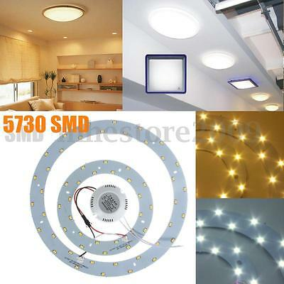 5730 SMD LED Panel Circle Annular Ceiling Light Fixtures Board Lamp Replacement