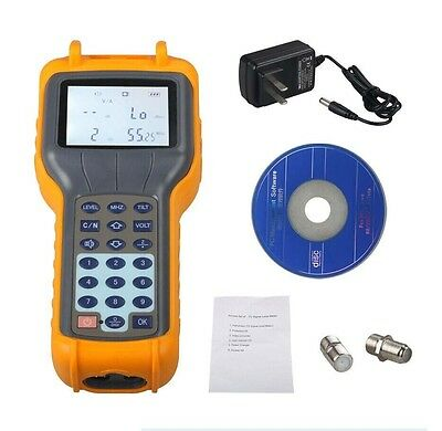 CATV Cable TV Handle Digital Signal Level Meter DB Tester 47MHz ~ 870MHz RY-S110