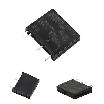 1/5Pcs 240V AC 2A G3MB-202P Solid State Relay Module Input 5V DC Output