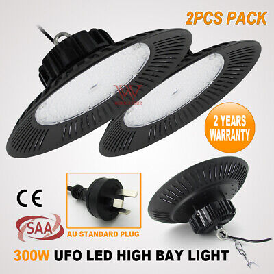 200W Led High Bay Factory Work Light Warehouse Industrial Office Down Lamp