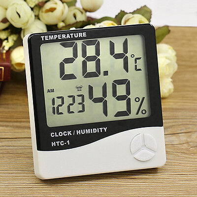 Digital Lcd Temperature Humidity Meter Indoor Hygrometer Thermometer Enticing