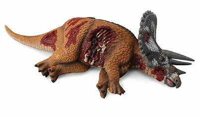 DEAD PREY TRICERATOPS DINOSAUR MODEL EDUCATIONAL TOY by COLLECTA  BNWT Gift