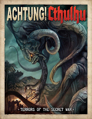 Terrors Of The Secret War - Achtung Cthulhu Expansion