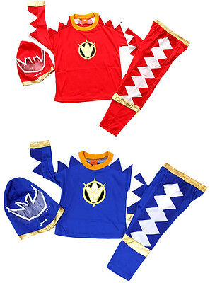 NEW Size 1-12 KIDS COSTUMES BOYS POWER RANGER RANGERS PARTY SUPERHERO GIFT XMAS