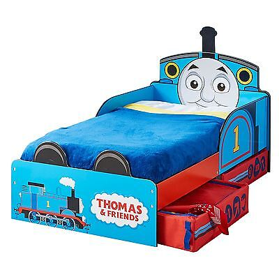 Thomas & Friends Mdf Toddler Bed With Storage New Tank Engine Boys