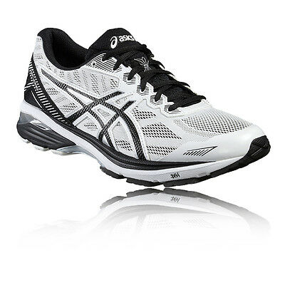 Asics Gt-1000 5 Hommes Blanc Support Running Sport Chaussures Baskets Sneakers