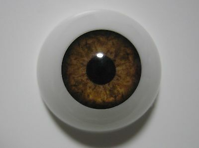 Reborn doll eyes 20mm Half Round HAZEL