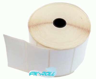 Blank White Self Adhesive Thermal Transfer Printer Labels 102 X 76mm 4 X 3 Inch