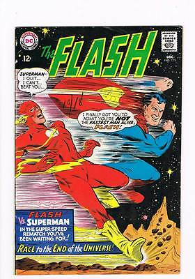 Flash # 175  Race to the End of the Universe !  grade 5.5 scarce book !!