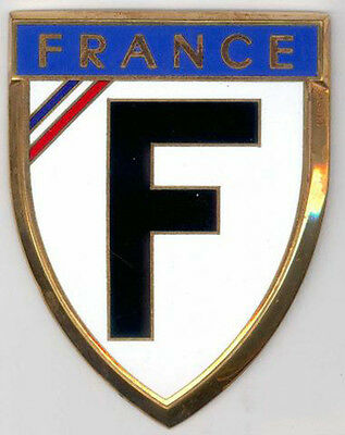 Badge auto car drago 1950s original France French 030