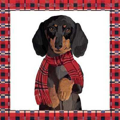 Arthur Dog Dachshund Paper Cocktail Beverage Napkins