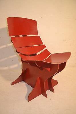 STUNNING VINTAGE BENTWOOD PLYWOOD LOUNGE CHAIR - 1960's