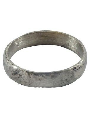 Ancient Viking Ring Wedding Band  C.900A.D. Size 9 3/4   (19.7mm)[PWR1098]