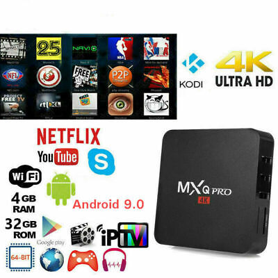Mxq Android 4.4 Quad Core Xbmc Internet Tv Smart Box 1Gb / 8Gb Decoder Iptv Ds