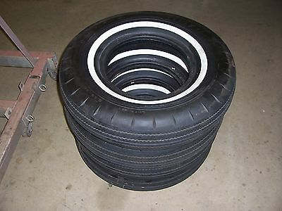 Goodyear vintage bias ply tire 8.00 14 Super Cushion wheel 4 ply set of 4