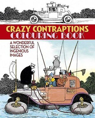 Crazy Contraptions Colouring Book By Arcturus Publishing,Heath Robinson