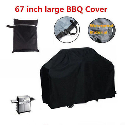New 4 Burner Waterproof BBQ Cover Gas Charcoal Barbeque Grill Protector 170cm