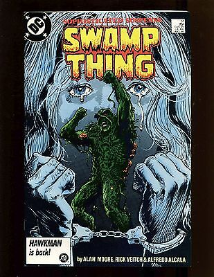 Swamp Thing (1982) #51 VF Moore Justice League, Dark Constantine, Harvey Bullock