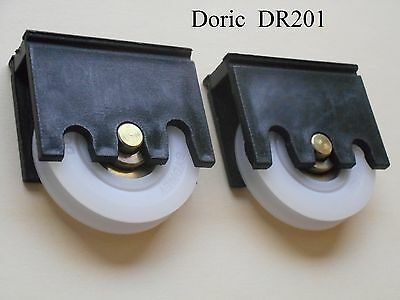 Sliding door rollers wheels * 1 PAIR *  Doric DR201 with 32mm or 38mm roller