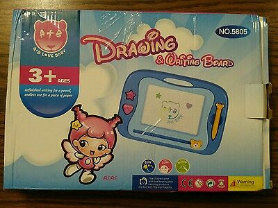 Drawing and writing board for kids - magnetic