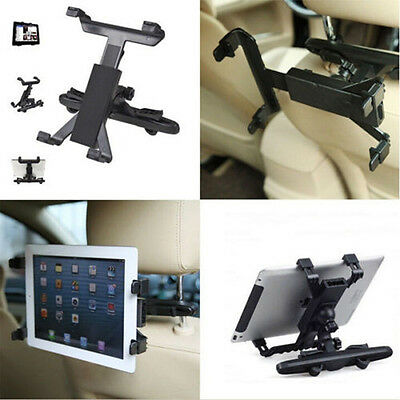 """360°Support Voiture appui-tête Pour Tablette 6""""-10"""" iPad 2 3 4 AIR Samsung Tab"""