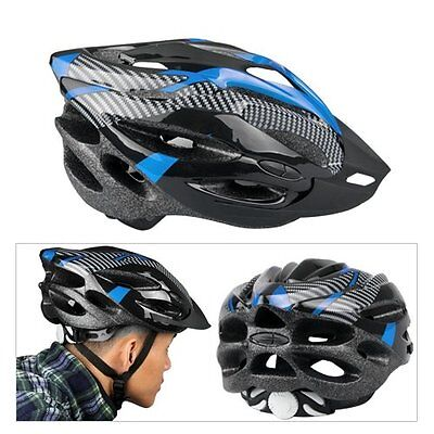 Blue Helmet visor Cycling Mountain Bike Bicycle Helmet bike CT