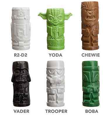 Star Wars Tiki Mug Drinkware 6 Piece Set