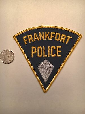 Frankfort Indiana Police Department Patch In