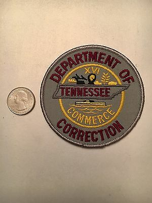 Tennessee Department Of Corrections Prison Guard Police Patch Tn