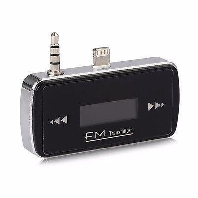 UK Car Wireless MP3 Music Player FM Radio Transmitter ITRIP for iPhone 6 6s New