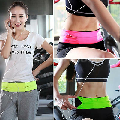 New Belly Waist Bum Bag Fit Running Jogging Cycling Belt Pouch Sports Fanny Pack