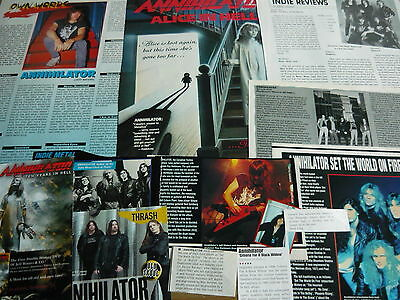 Annihilator - Magazine Cuttings Collection (Ref 1A)