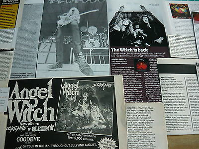 Angel Witch -  Magazine Cuttings Collection (Ref S2)
