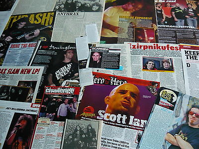 Anthrax - Magazine Cuttings Collection (Ref 1C)