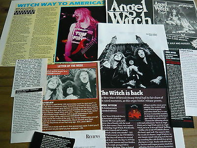 Angel Witch - Magazine Cuttings Collection (Ref 1A)