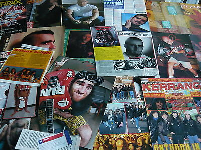 Anthrax - Magazine Cuttings Collection (Ref 3)