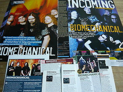 Biomechanical - Magazine Cuttings Collection (Ref T6)