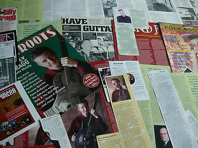 Billy Bragg - Magazine Cuttings Collection (Ref Xd12)
