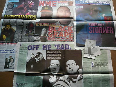 Black Grape - Magazine Cuttings Collection (Ref T4)