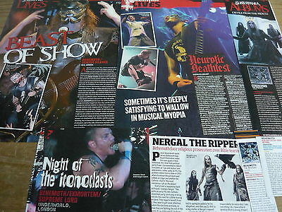 Behemoth - Magazine Cuttings Collection (Ref T6)