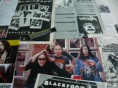 Blackfoot - Magazine Cuttings Collection (Ref B1)