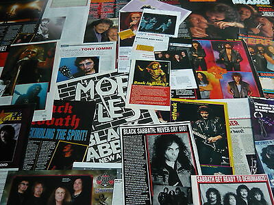 Black Sabbath - Magazine Cuttings Collection (Ref S14)