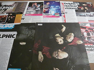 Delphic - Magazine Cuttings Collection (Ref T5)