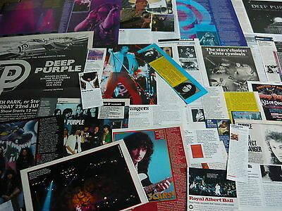 Deep Purple - Magazine Cuttings Collection (Ref R6)