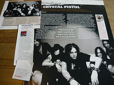 Crystal Pistol - Magazine Cuttings Collection (Ref X1A)