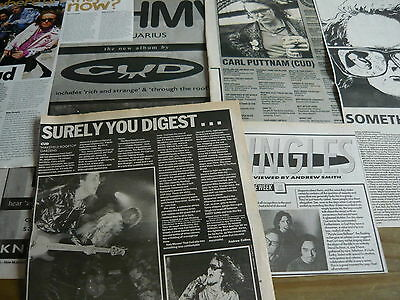 Cud - Magazine Cuttings Collection (Ref X1A)