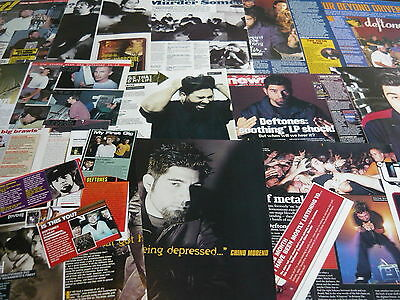 Deftones - Magazine Cuttings Collection (Ref X1A)