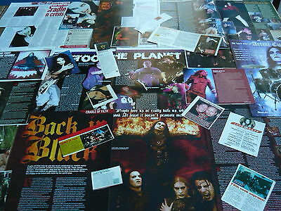 Cradle Of Filth - Magazine Cuttings Collection (Ref 1)