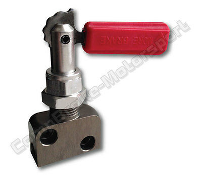 Brake Bias Valve Lever Type - Red Handle CMB1338